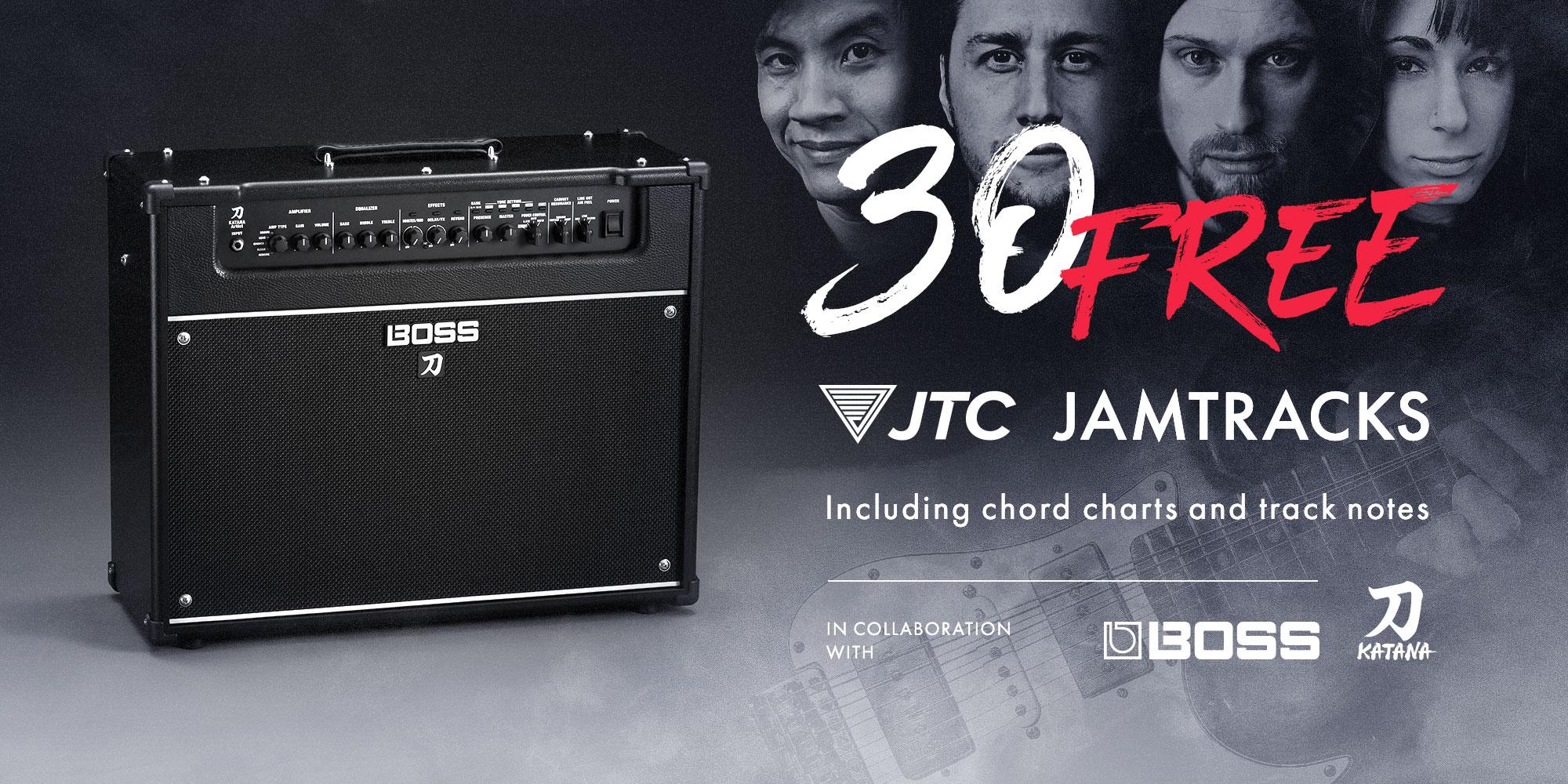 30 Free Jamtracks