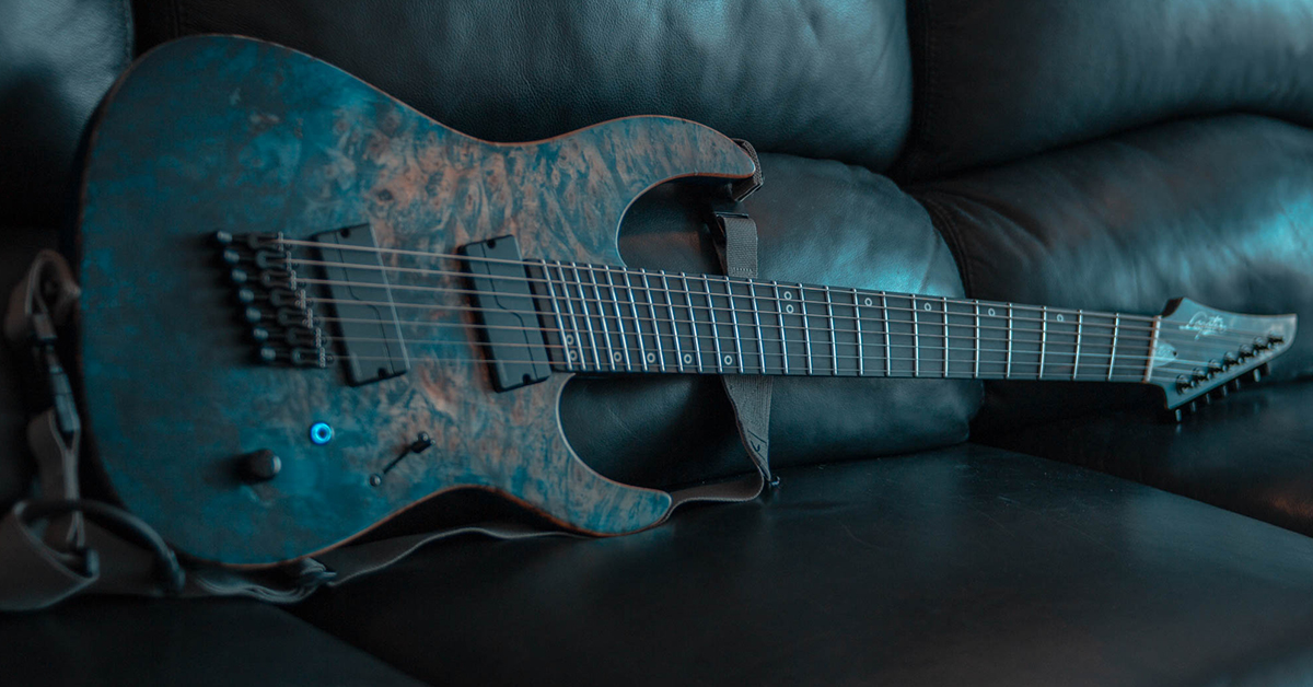 lucas moscardini fanned fret legator guitar