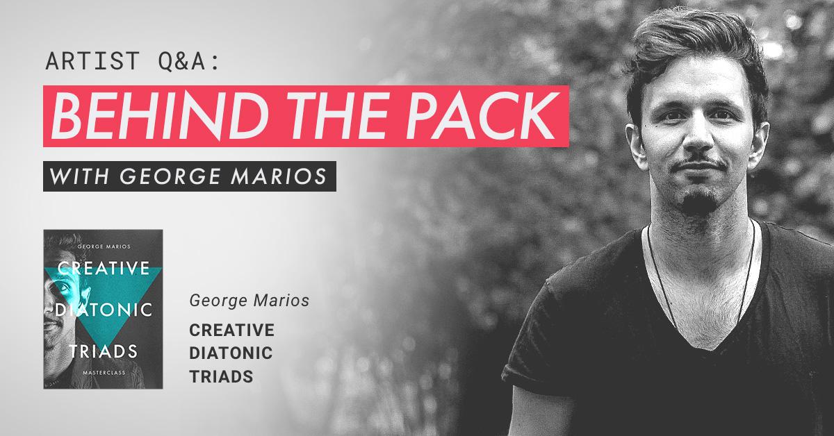 george marios creative diatonic triads interview