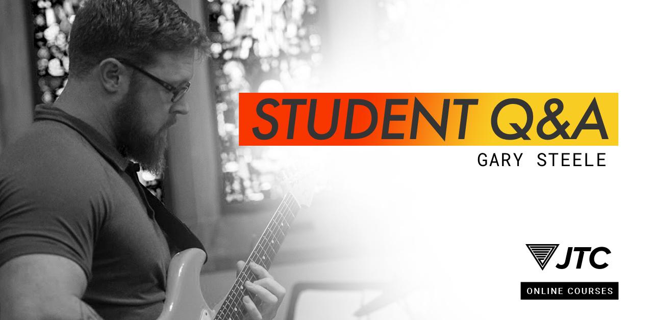 gary steele jtc guitar student