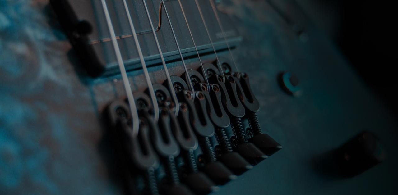 lucas moscardini legator guitar bridge and strings