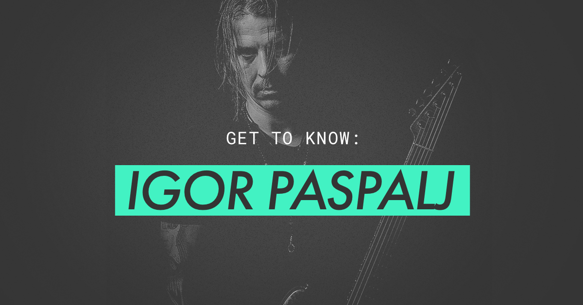 get to know igor paspalj