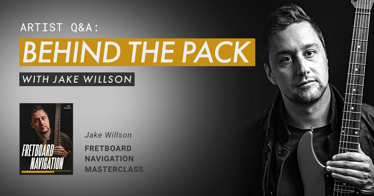 jake willson behind the pack